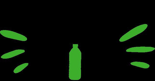 Ice River Green Bottle Logo