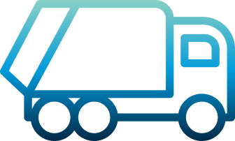 Icon of a garbage truck