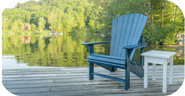 Plastic Muskoka chair